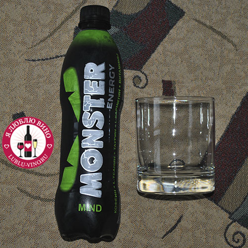 энергетик Monster Green Energy Mind
