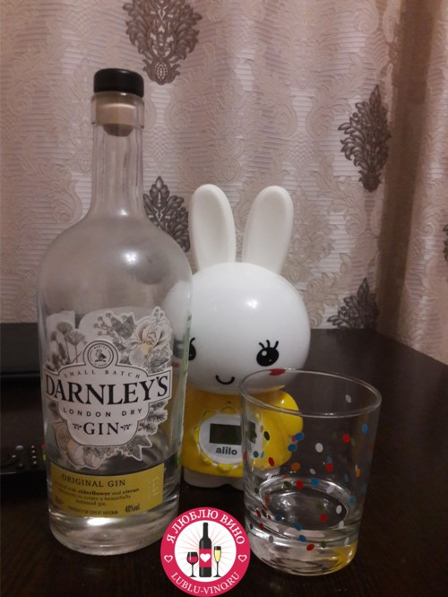 сухой джин Darnley's Original London Dry Gin