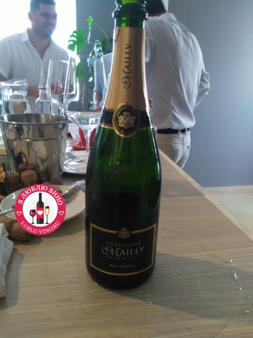 шампанское Mailly Grand Cru Brut Reserve (Майи Гран Крю Брют Резерв)