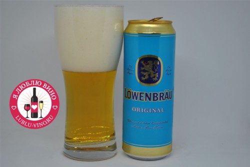 светлое пиво Lowenbrau Original