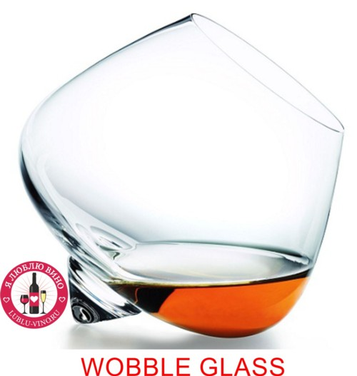 Wobble glass